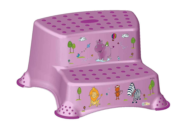 Kindertopf WC Aufsatz Hippo lila Toilettentrainer