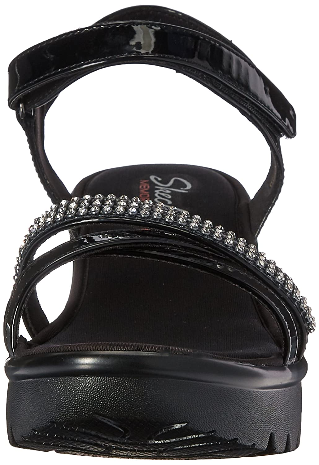Skechers Cali Women's Concords Platform Dress Sandal Black