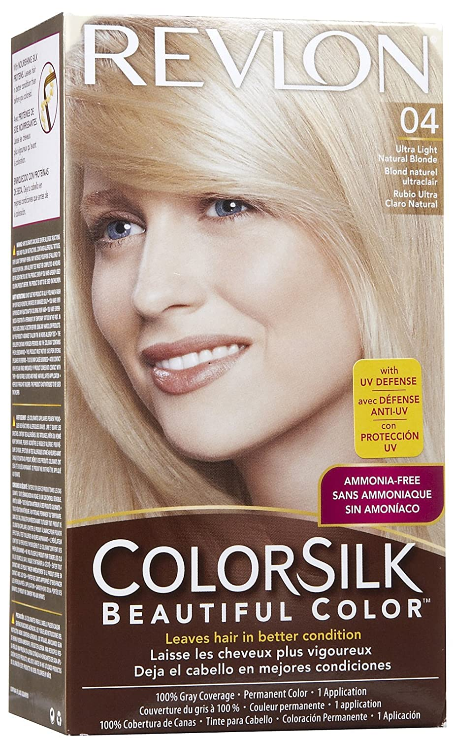 Revlon Colorsilk Haircolor Light natural Blonde: Amazon.co.uk ...