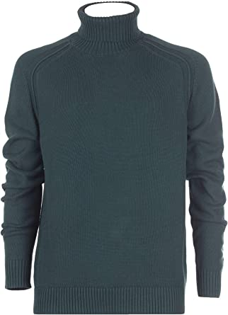 RRD - Camiseta para Hombre, Cuello Alto, Manga Larga, algodón, Verde, w19125: Amazon.es: Ropa y accesorios