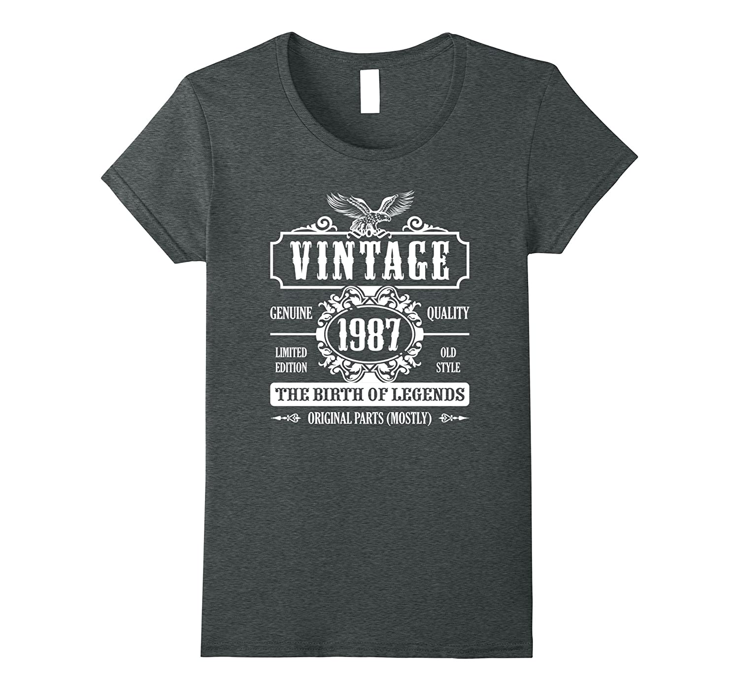 30th Birthday The Birth of Legends T-Shirt Born in 1987 Gift