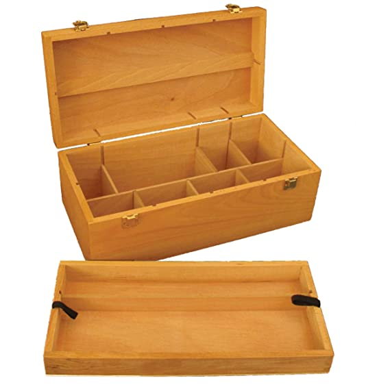 Colourfull Arts Howden - Caja para almacenaje (Madera de Haya ...