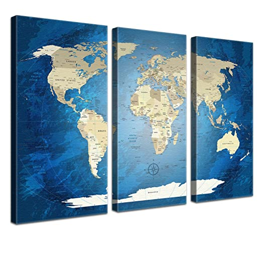 Lanakk world map with cork for pinning destinations worldmap lanakk world map with cork for pinning destinations worldmap blue ocean gumiabroncs Gallery