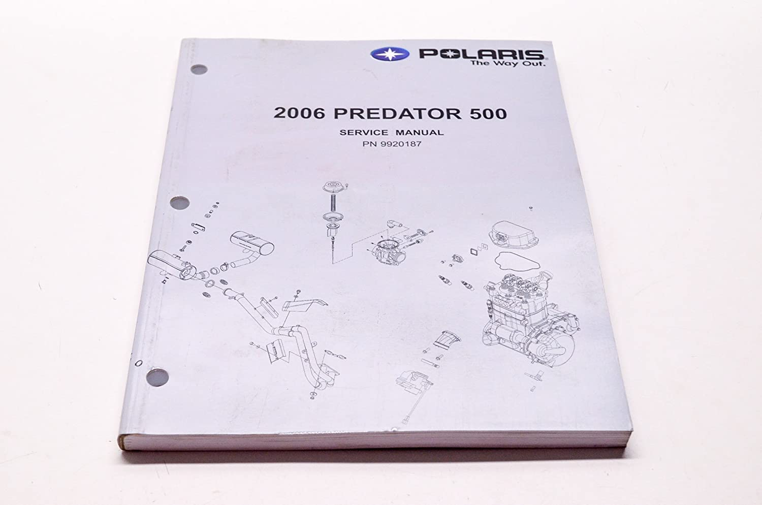 Amazon.com: Polaris New OEM Service Manual '06 Predator 500, 9920187:  Automotive