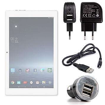 DURAGADGET Pack con Cargadores para la Tablet iRULU eXpro ...