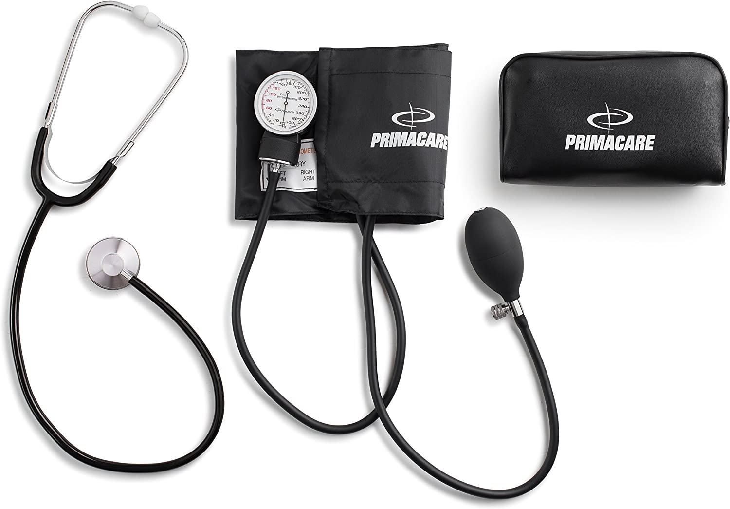 Primacare DS-9195 Classic Series Adult Blood Pressure Kit with D-Ring Cuff