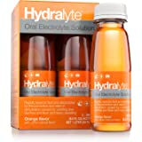 Hydralyte - Oral Electrolyte Solution, Ready to Drink Hydration Formula (Orange, 4-Pack)