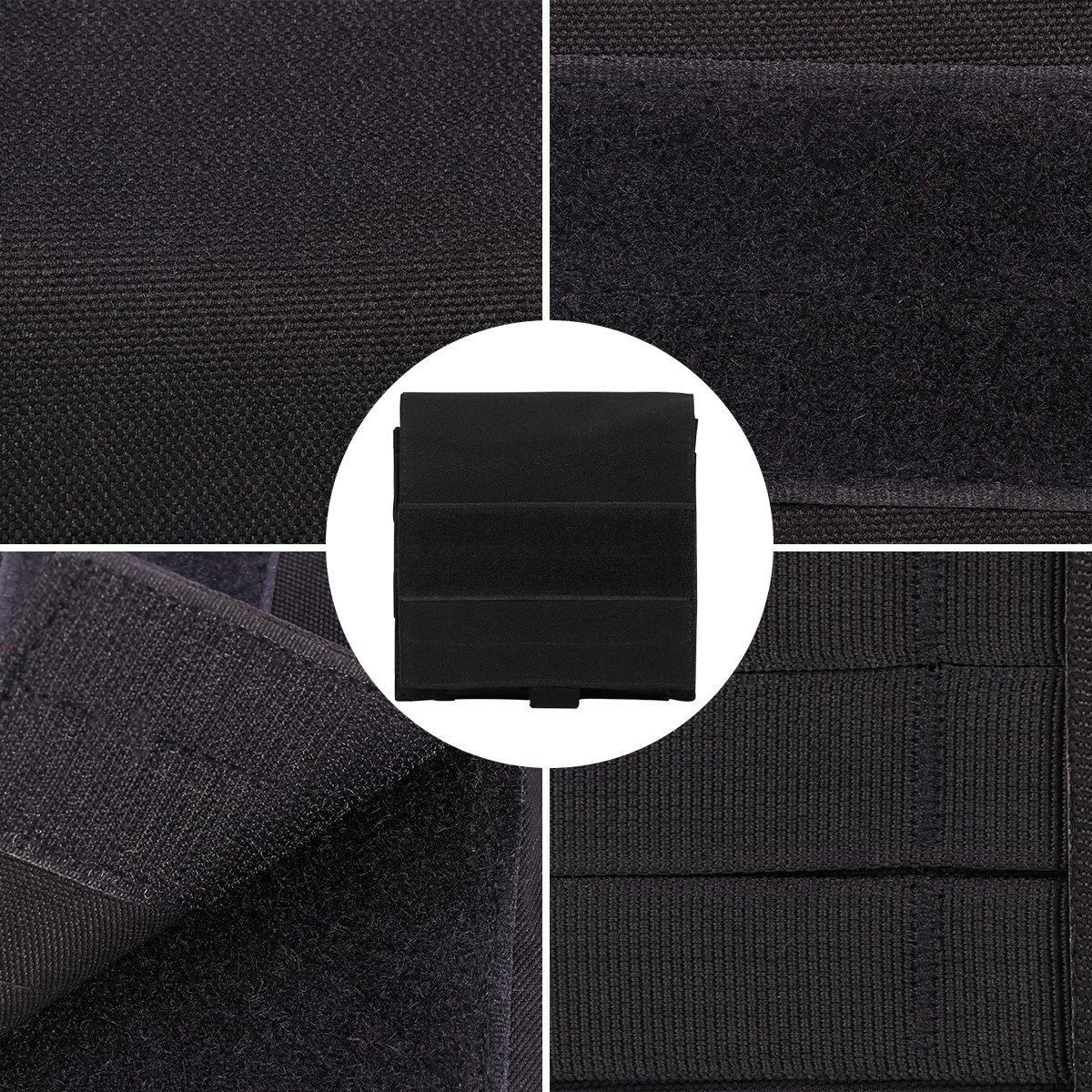 Xidan Nylon Tactique Molle Pochette Polyvalent R/ésistant /à leau Utilitaire Poche