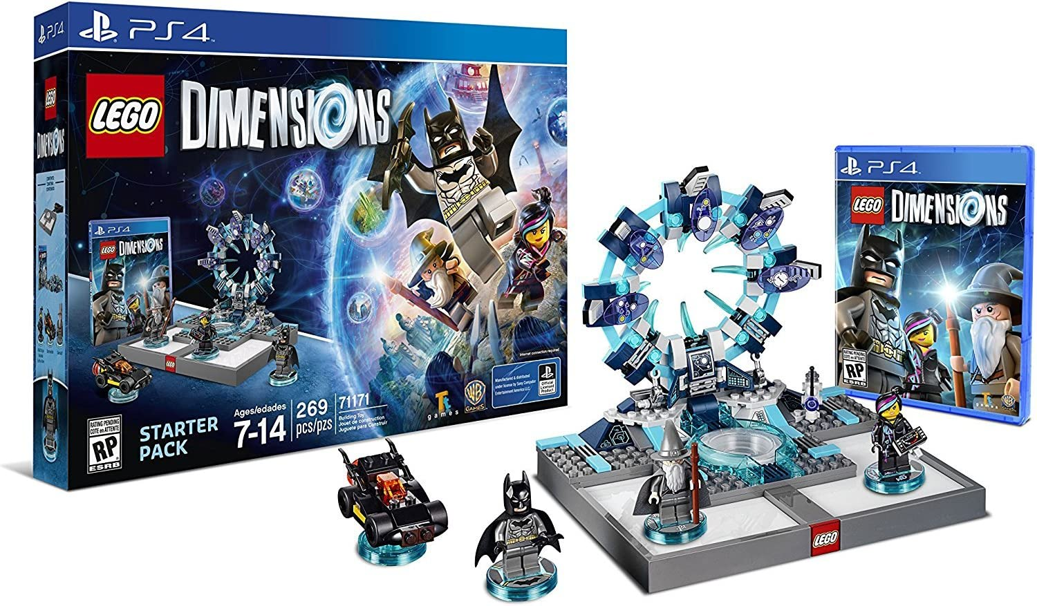 lego dimensions starter pack video game