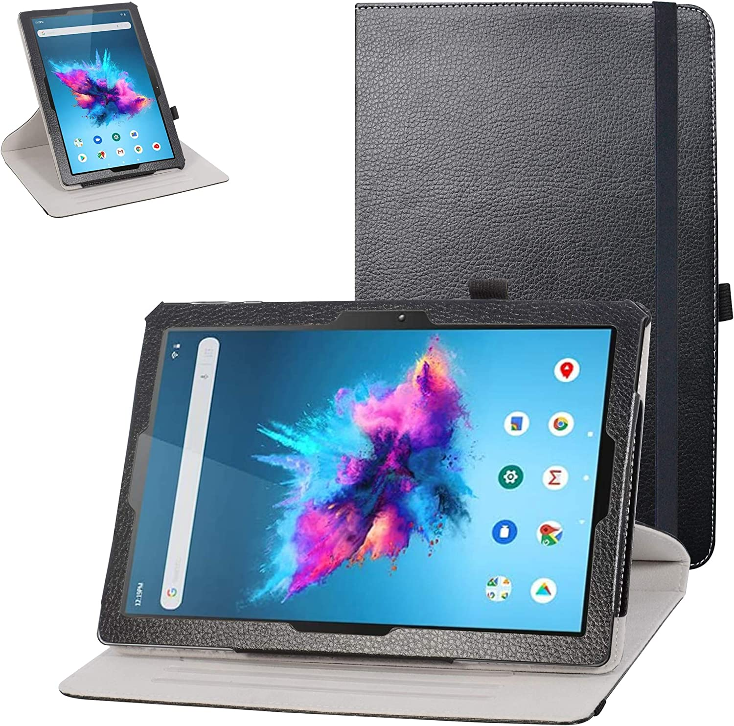 Acer Iconia One 10 B3-A40 Rotating Case,Mama Mouth 360 Degree Rotary Stand with Cute Pattern Cover for 10.1