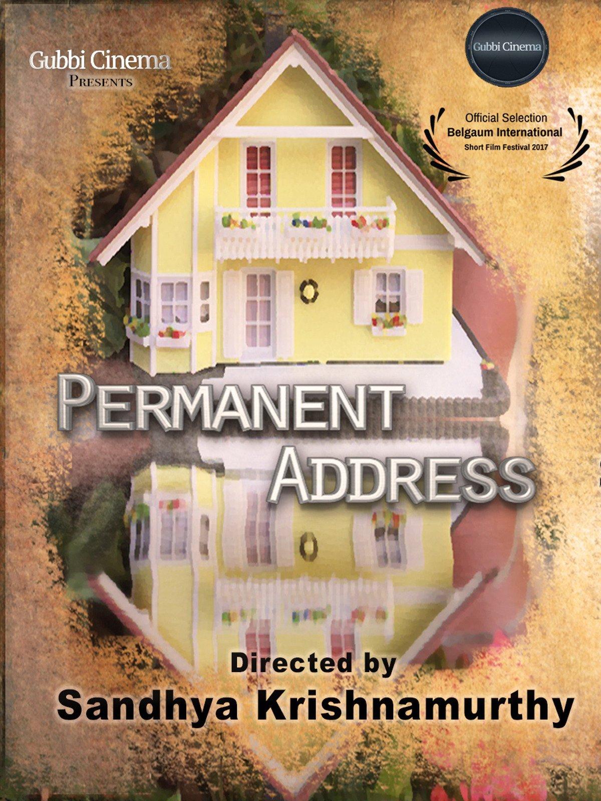 Permanent Address on Amazon Prime Video UK