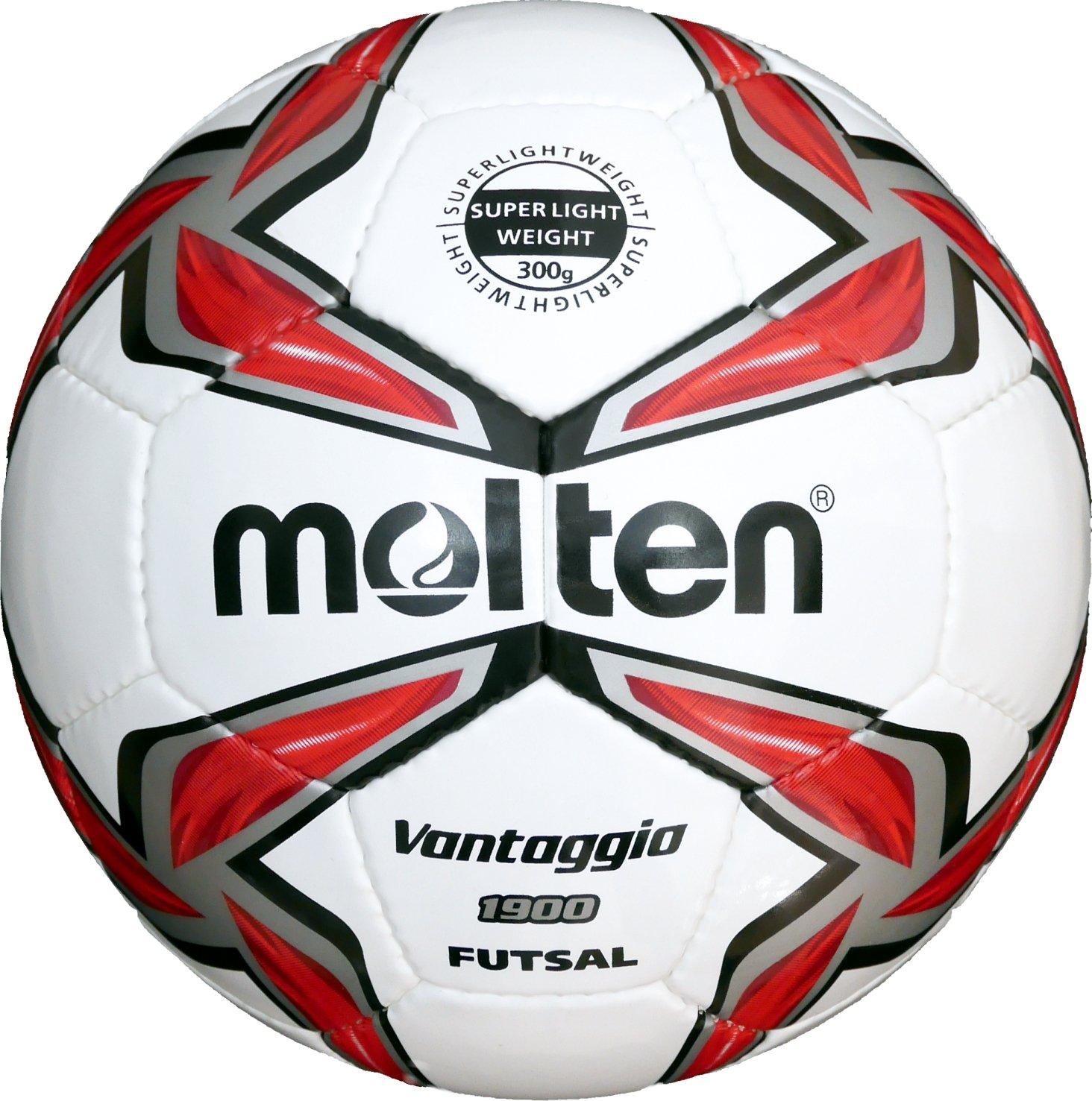 Molten Uni f9V1900de LR Futsal, Blanc, 4 MLTN5|#molten F9V1900-LR