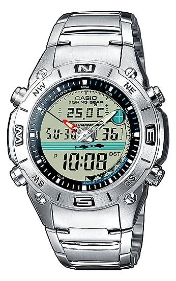 Casio AMW-702D-7AVEF - Reloj analógico - digital de caballero de cuarzo con