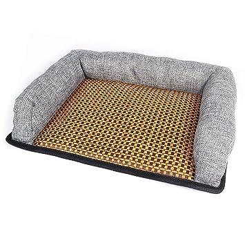 Amazon.com: Cojín de refrigeración para mascotas, camas de ...