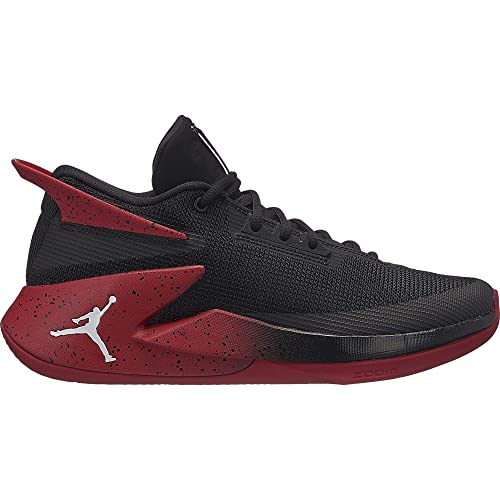 hot sale online c8e2a d9aaa Nike Jordan Fly Lockdown, Zapatos de Baloncesto para Hombre, Negro (Black  White-Gym Red 023), 47 EU  Amazon.es  Zapatos y complementos