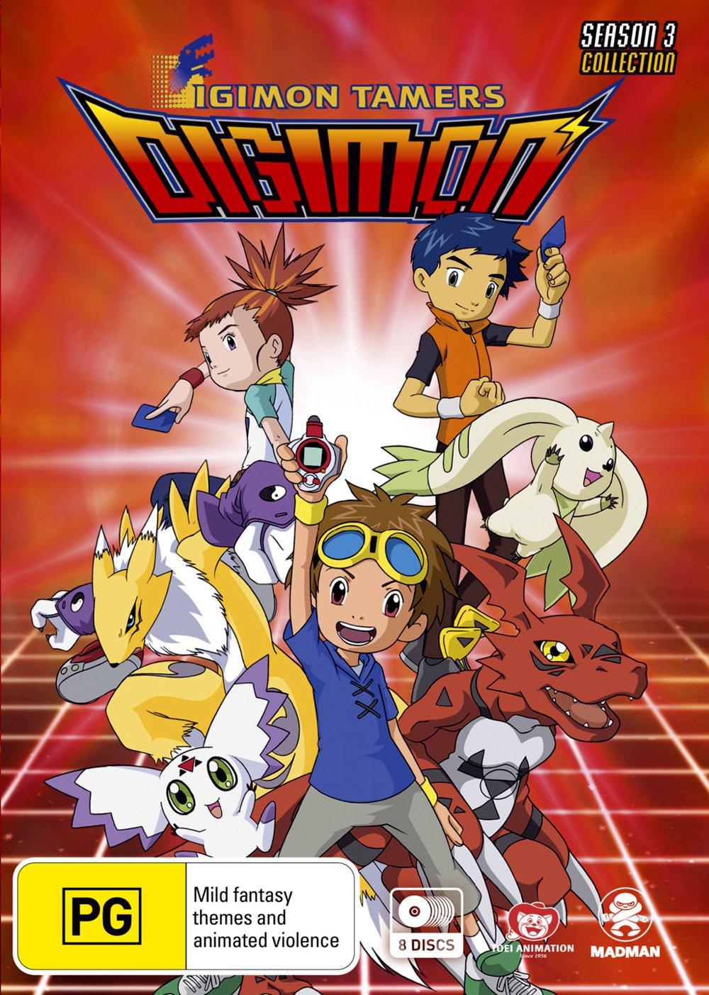 Digimon Tamers S3 8 Dvd Edizione: Australia Italia: Amazon.es: Cine y Series TV