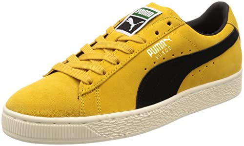 f2b17e721b2c Puma Unisex s Suede Classic Archive Yellow Sneakers-9 UK India (43 ...