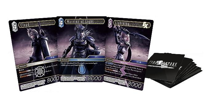 Dissidia Final Fantasy Cartas: Amazon.es: Videojuegos
