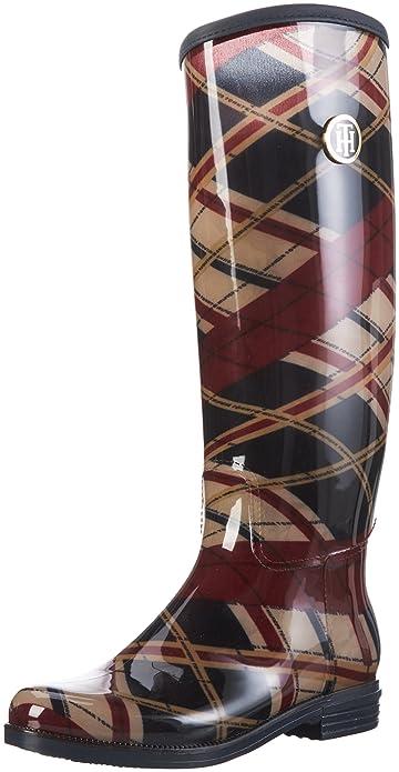 Tommy HilfigerO1285XBRIDGE 6R - Stivali alti da pioggia Donna ... 6f975106f7b
