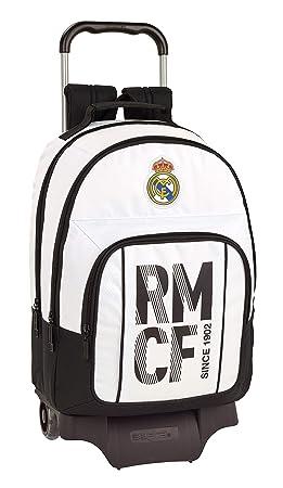 Real Madrid 2018 Cartable Blanc Blanco 34 cm