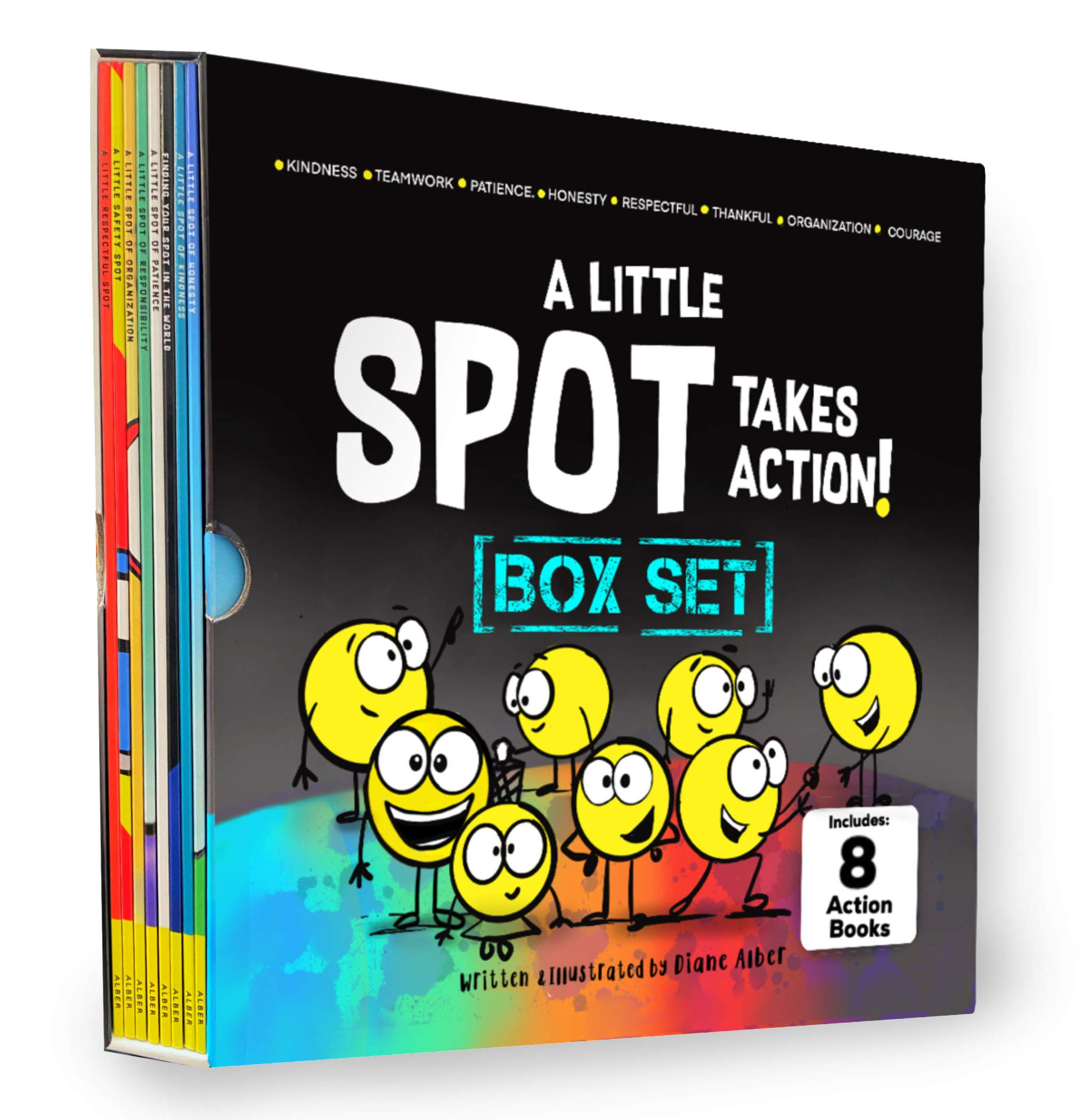 A Little SPOT Takes Action! Box Set (8 Books)