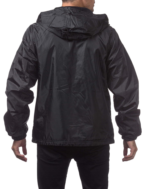 Pro Club Fleece Lined Windbreaker Jacket 128