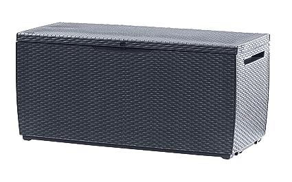 Extrem Keter Auflagen- und Universal Rattan Style Box Capri, 305 L, grau BJ42