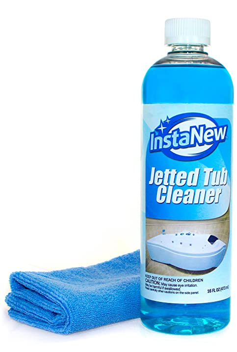Amazon.com: Jetted Tub Cleaner by InstaNew - 16 ounces, Jacuzzi ...