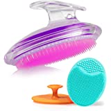 Exfoliating Brush For Razor Bumps and Ingrown Hair Treatment, Silicone Face Scrubbers, Face and Body Exfoliator Set…