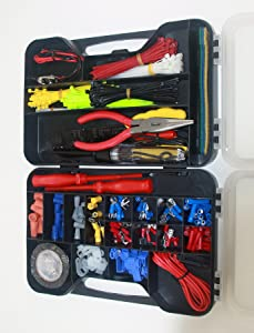 Cambridge Resources 399 pcs Electrical Repair Kit with Case