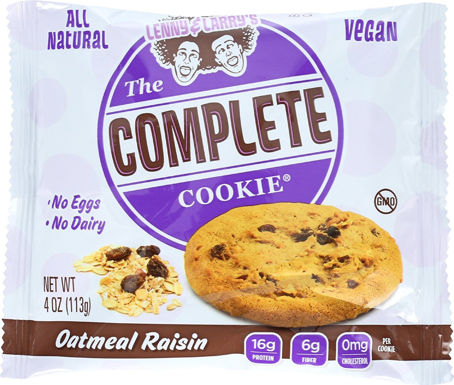 Lenny & Larrys Cookie Complete Oatmeal Raisin