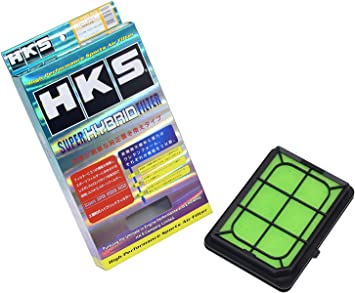 HKS 70017-AK003 Green Large Super Hybrid Replacement Filter