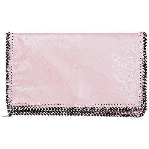 2ff0614001a63 Stella Mccartney women Falabella Fold Over clutch bag rosa  Amazon.co.uk   Shoes   Bags