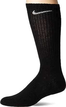 Nike Unisex Everyday Cush Crew Socks, Medium, Pair of 3