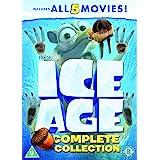 Ice Age 1-5 plus a Mammoth Christmas Box Set [DVD] [2002]