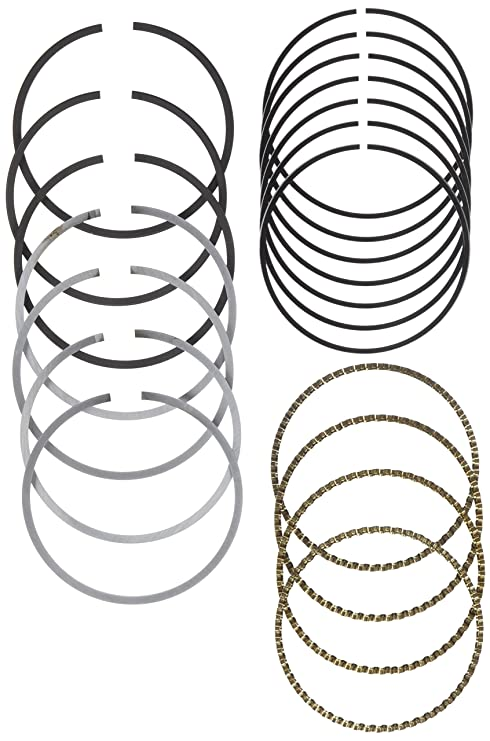 Amazon Com Hastings 2c4659 4 Cylinder Piston Ring Set Automotive