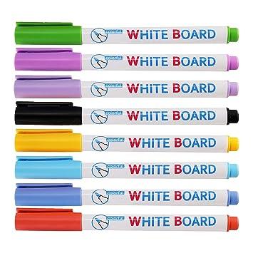 Rotulador de pizarra blanca de colores vibrantes para ...
