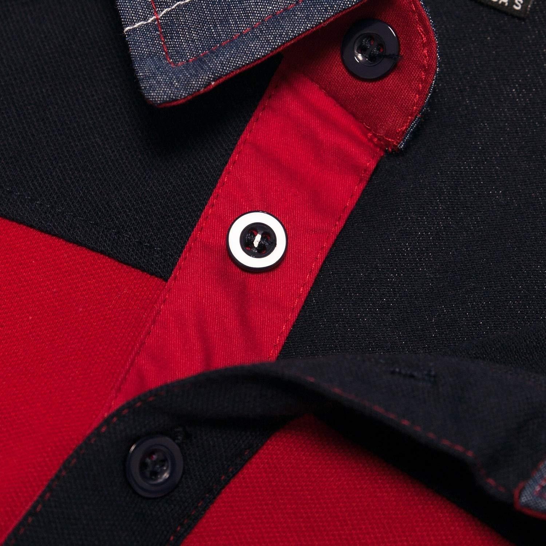 FieerMen Embroidery Cozy Breathable Juniors Tshirt Tops Tees