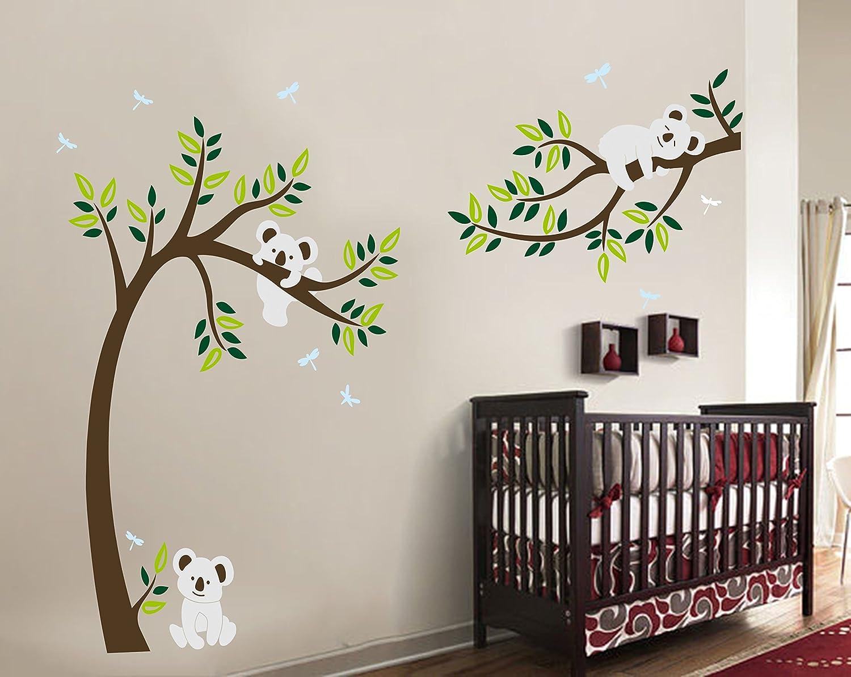 Decorazione Pareti Per Bambini : Grande albero vivai adesivi murali decorazione da parete decorazione