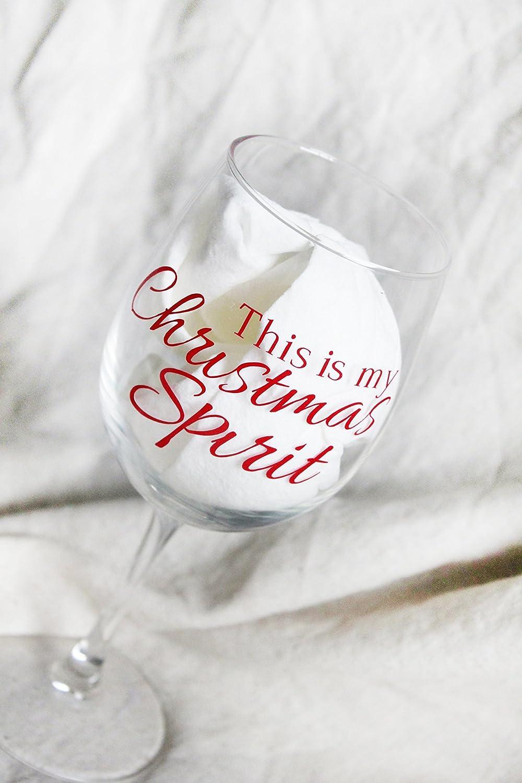 Ho Ho Ho Stemless Wine Glass Christmas Wine Glasses White Elephant Gift Christmas Stocking Stuffers Custom Gifts Christmas Party Glass