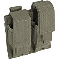 Red Rock Outdoor Gear Double Pistol mag Pouch, Olive Drab