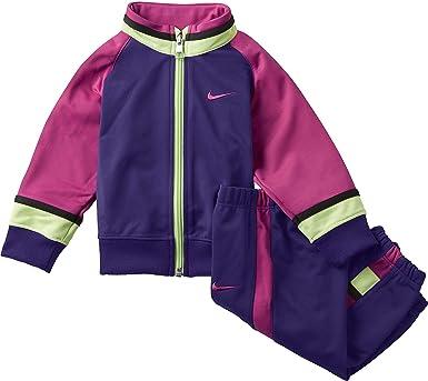 Padre detección Primero  Chandal Nike, bebé niña, talla 6-9 morado: Amazon.es: Ropa y accesorios