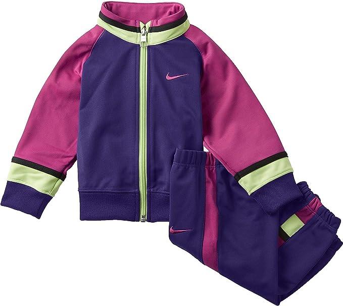Chandal Nike, bebé niña, talla 6-9 morado: Amazon.es: Ropa y ...