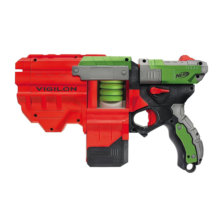 Nerf Vortex Nitron Automatic Soft Disc Shooter Blaster Gun