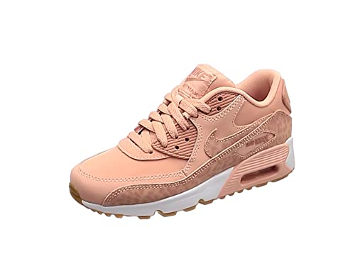 24611832a837 Nike Girls  Air Max 90 LTR Se Gg Gymnastics Shoes Grey  Amazon.co.uk ...
