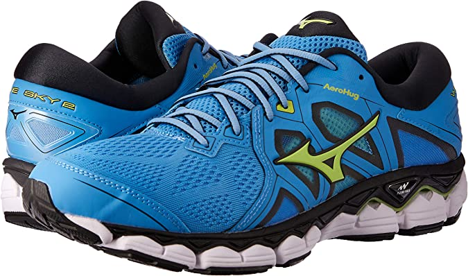 Mizuno Wave Sky 2 Azul J1GC1802 37: Amazon.es: Zapatos y complementos