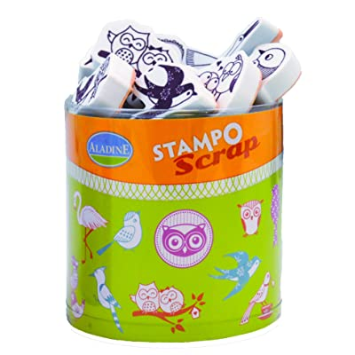Aladine 03731 - Stampo - Scrap Oiseaux