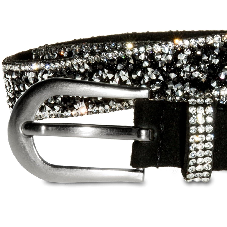 edb8f791e68 CASPAR Fashion - Ceinture - Femme - Noir - 105 (circonférence du corps  107 111 cm)  Amazon.fr  Vêtements et accessoires