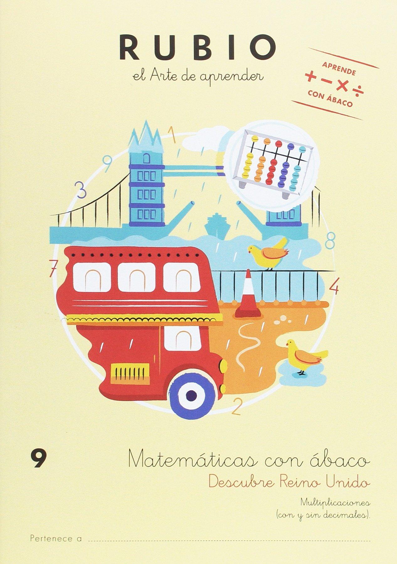MATEMÁTICAS CON ÁBACO 9: Amazon.es: S.L.U, ENRIQUE RUBIO POLO: Libros