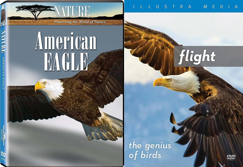 Great Birds Set - Flight - The Genius of Birds & Nature: American Eagle 2-DVD Documentary Bundle
